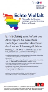 Echte Vielfalt: Einladung zur Auftaktveranstaltung am 1.7.2014