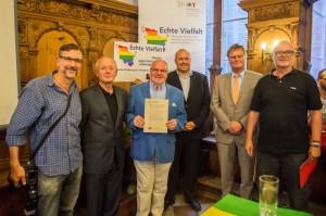 Erstunterzeichner der Lübecker Erklärung für Akzeptanz und Respekt